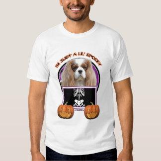 Halloween - Just a Lil Spooky - Cavalier -Blenheim T-shirt