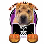 Halloween - Just a Lil Spooky - Chinese Shar Pei Photo Sculptures