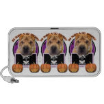 Halloween - Just a Lil Spooky - Chinese Shar Pei Travelling Speaker