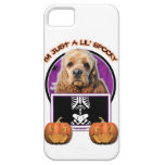 Halloween - Just a Lil Spooky - Cocker Spaniel iPhone 5 Cover