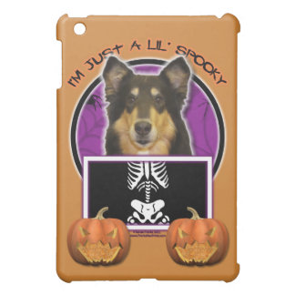 Halloween - Just a Lil Spooky - Collie - Caroline Cover For The iPad Mini