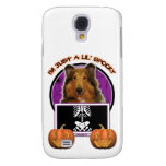 Halloween - Just a Lil Spooky - Collie - Natalie Samsung Galaxy S4 Case