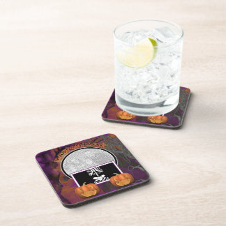 Halloween - Just a Lil Spooky Beverage Coaster