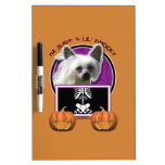 Halloween - Just a Lil Spooky - Crestie - Kahlo Dry-Erase Board