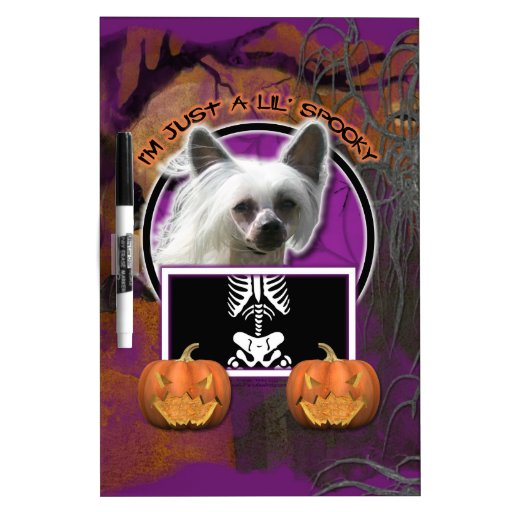 Halloween - Just a Lil Spooky - Crestie - Kahlo Dry Erase Board