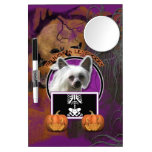 Halloween - Just a Lil Spooky - Crestie - Kahlo Dry Erase Boards