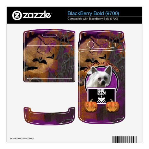 Halloween - Just a Lil Spooky - Crestie - Kahlo Decal For BlackBerry