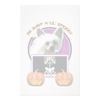 Halloween - Just a Lil Spooky - Crestie - Kahlo Customized Stationery