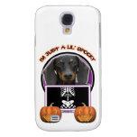 Halloween - Just a Lil Spooky - Dachshund -Winston Samsung Galaxy S4 Case