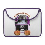 Halloween - Just a Lil Spooky - Havanese Sleeves For MacBook Pro