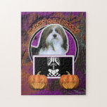 Halloween - Just a Lil Spooky - Havanese Puzzles