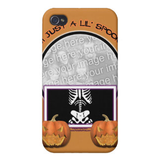 Halloween - Just a Lil Spooky iPhone 4 Cases