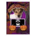 Halloween - Just a Lil Spooky - Jack Russell Card