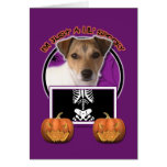 Halloween - Just a Lil Spooky - Jack Russell Greeting Card