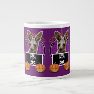 Halloween - Just a Lil Spooky - Kangaroo 20 Oz Large Ceramic Coffee Mug