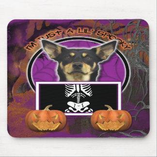 Halloween - Just a Lil Spooky - Kelpie - Jude Mousepads