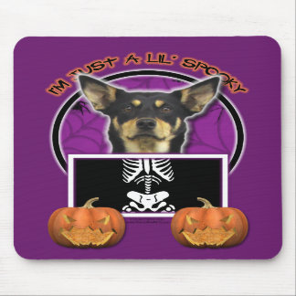 Halloween - Just a Lil Spooky - Kelpie - Jude Mouse Pads