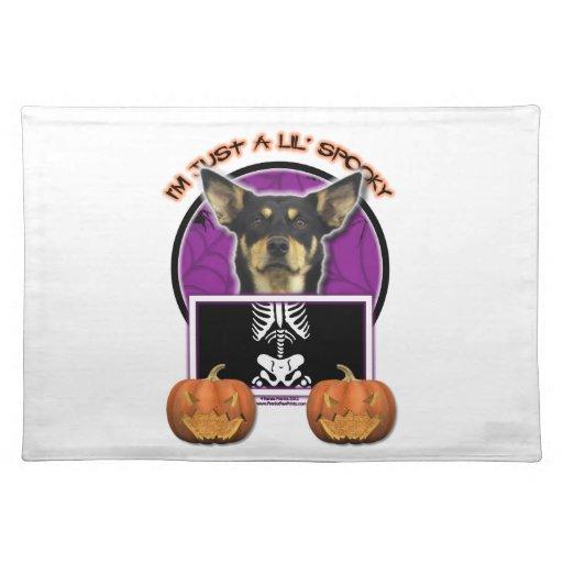 Halloween - Just a Lil Spooky - Kelpie - Jude Cloth Place Mat