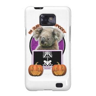 Halloween - Just a Lil Spooky - Koala Samsung Galaxy S2 Case