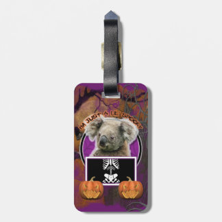 Halloween - Just a Lil Spooky - Koala Tag For Luggage
