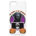Halloween - Just a Lil Spooky - Labrador - Black iPhone 5 Case