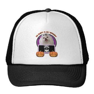 Halloween - Just a Lil Spooky - Maltese Trucker Hat
