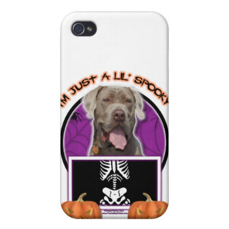 Halloween - Just a Lil Spooky - Mastiff - Snoop iPhone 4/4S Cover