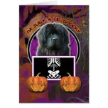 Halloween - Just a Lil Spooky - Newfoundland Greeting Cards