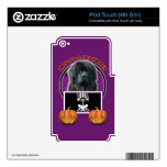 Halloween - Just a Lil Spooky - Newfoundland iPod Touch 4G Decals