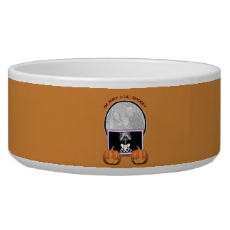 Halloween - Just a Lil Spooky Pet Water Bowls