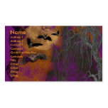 Halloween - Just a Lil Spooky - Pitbull Puppy Double-Sided Standard Business Cards (Pack Of 100)