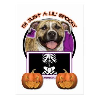 Halloween - Just a Lil Spooky - Pitbull - Tigger Postcard
