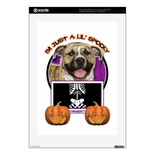 Halloween - Just a Lil Spooky - Pitbull - Tigger Skin For PS3 Console