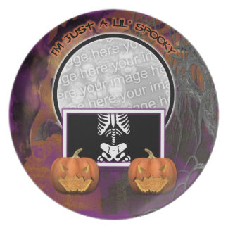 Halloween - Just a Lil Spooky Party Plate