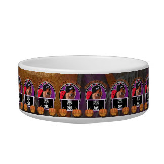 Halloween - Just a Lil Spooky - Pom - Gizzy Pet Food Bowls