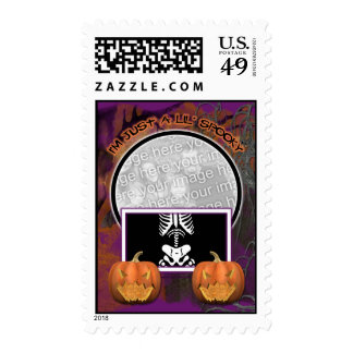 Halloween - Just a Lil Spooky Postage Stamps