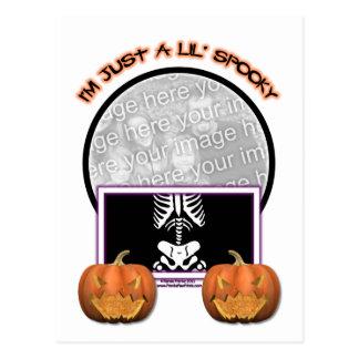 Halloween - Just a Lil Spooky Postcard