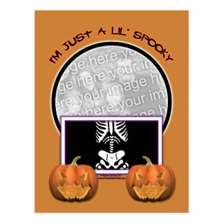 Halloween - Just a Lil Spooky Postcards
