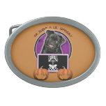 Halloween - Just a Lil Spooky - Pug - Ruffy Belt Buckles