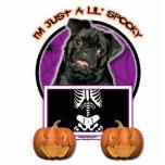 Halloween - Just a Lil Spooky - Pug - Ruffy Photo Cutout