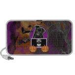 Halloween - Just a Lil Spooky - Pug - Ruffy Laptop Speaker