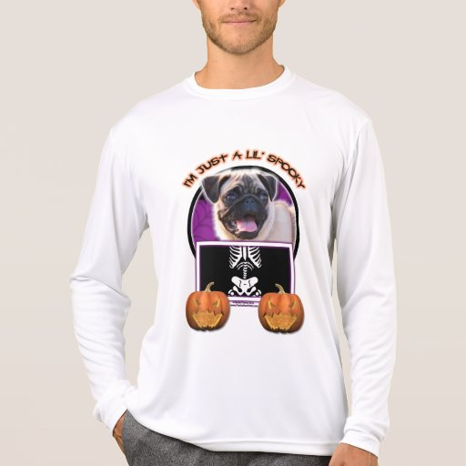 Halloween - Just a Lil Spooky - Pug T-shirts
