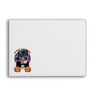 Halloween - Just a Lil Spooky - Rottweiler Envelopes