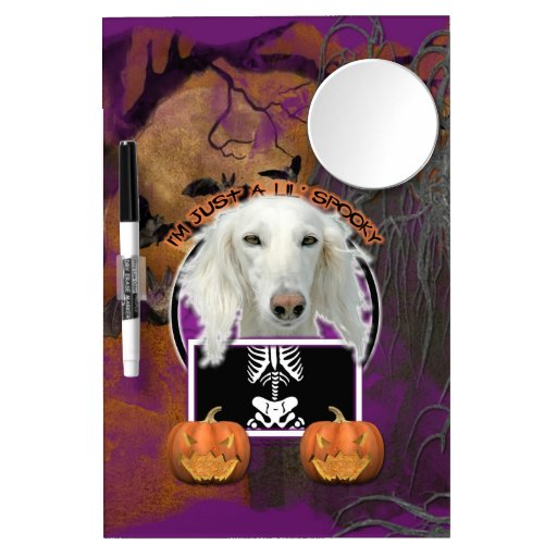 Halloween - Just a Lil Spooky - Saluki Dry Erase Boards