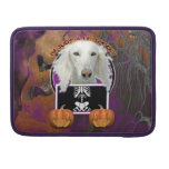 Halloween - Just a Lil Spooky - Saluki Sleeve For MacBook Pro