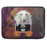 Halloween - Just a Lil Spooky - Saluki Sleeves For MacBooks