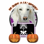 Halloween - Just a Lil Spooky - Saluki Acrylic Cut Out