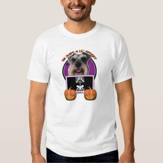 Halloween - Just a Lil Spooky - Schnauzer Tee Shirt