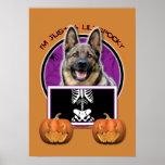 Halloween - Just a Lil Spooky - Shepherd Posters