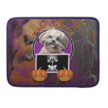Halloween - Just a Lil Spooky - ShihPoo - Maggie MacBook Pro Sleeves